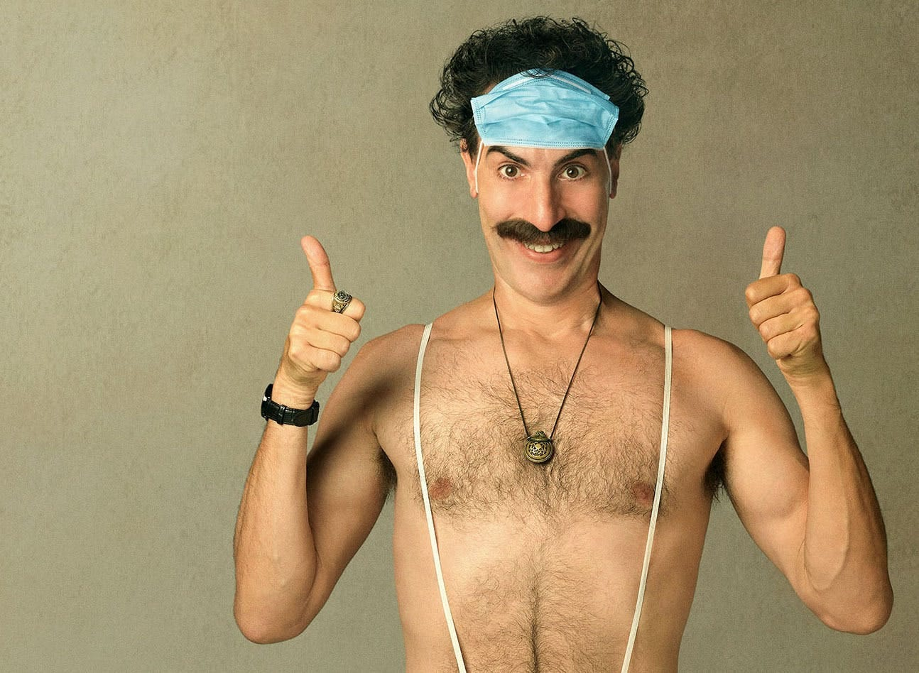 Borat 2: Sacha Baron Cohen is back to mess with your head — and heart |  Star Tribune
