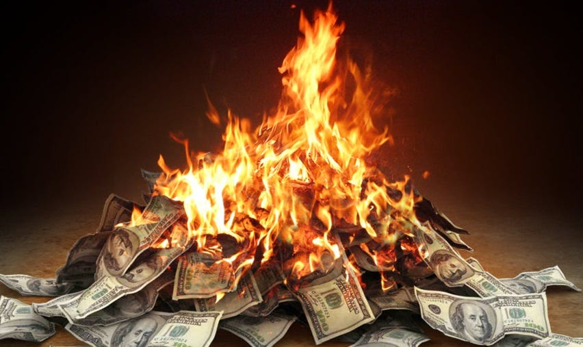 Burning Cash for a Car? - Financial Abundance