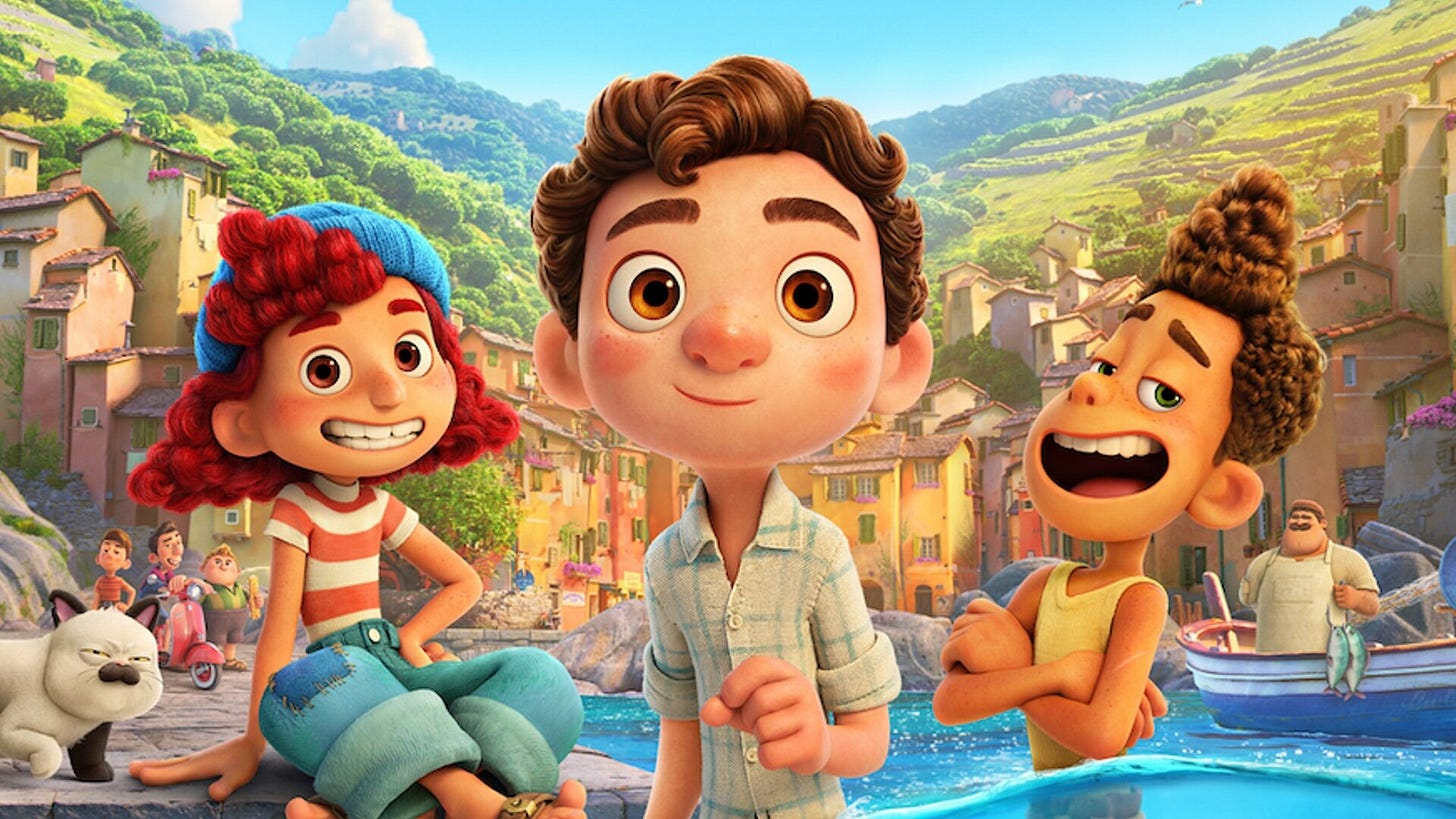 Delightful Full Trailer for Pixar's Fun New Adventure Film LUCA — GeekTyrant