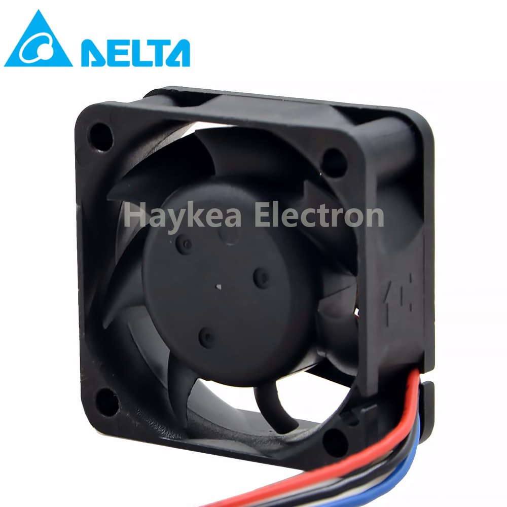 For delta AFB0412LB 4cm 40MM DC 12V 0.09A 40*40*15MM double ball bearing fan 4015 mute durable