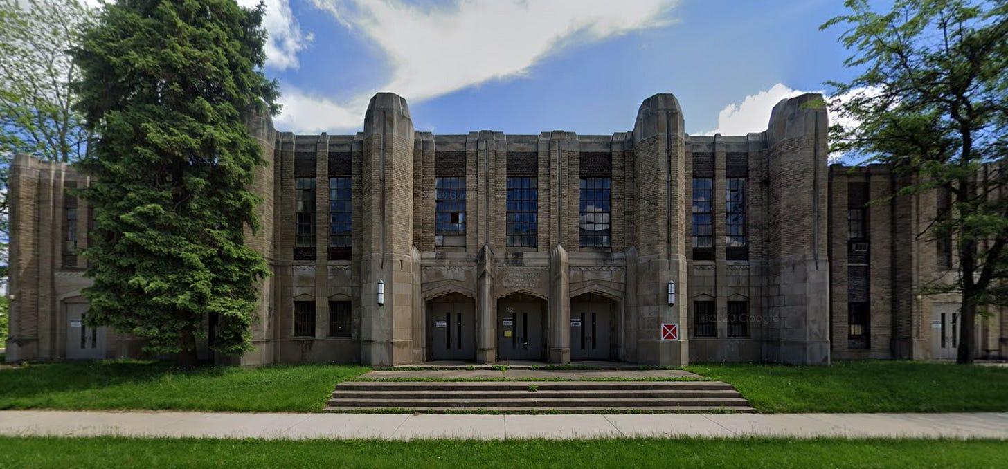 National Guard Armory Rockford Google Street View