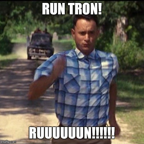 Image result for crypto meme tron
