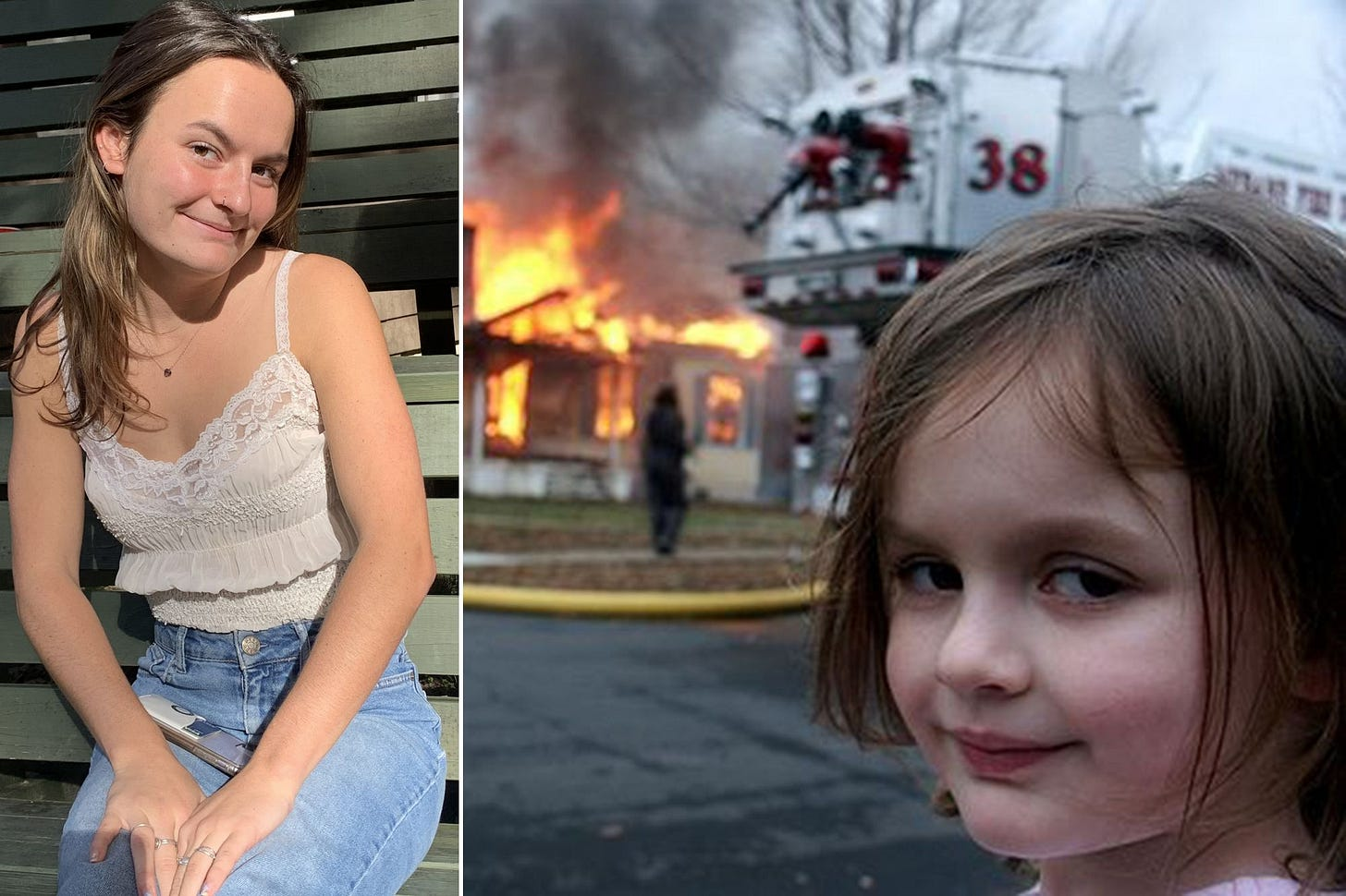 Disaster Girl' selling original photo behind viral meme