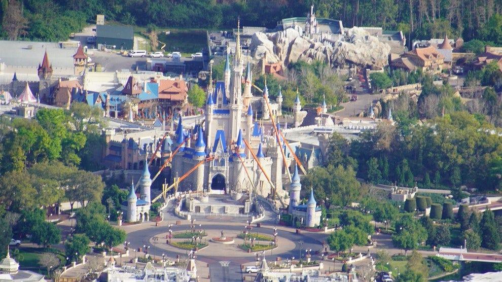 Image result for magic kingdom empty