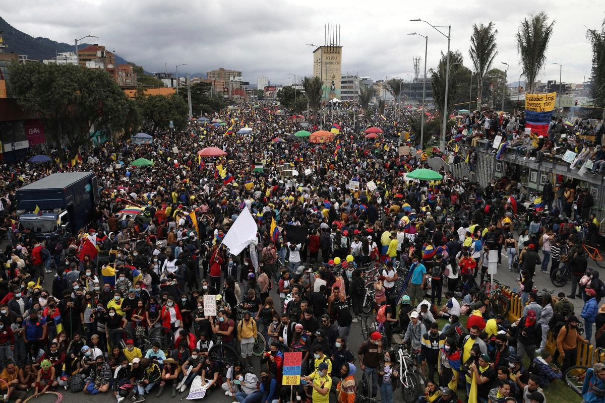 Colombia protests 2021: Why are people protesting? - Deseret News