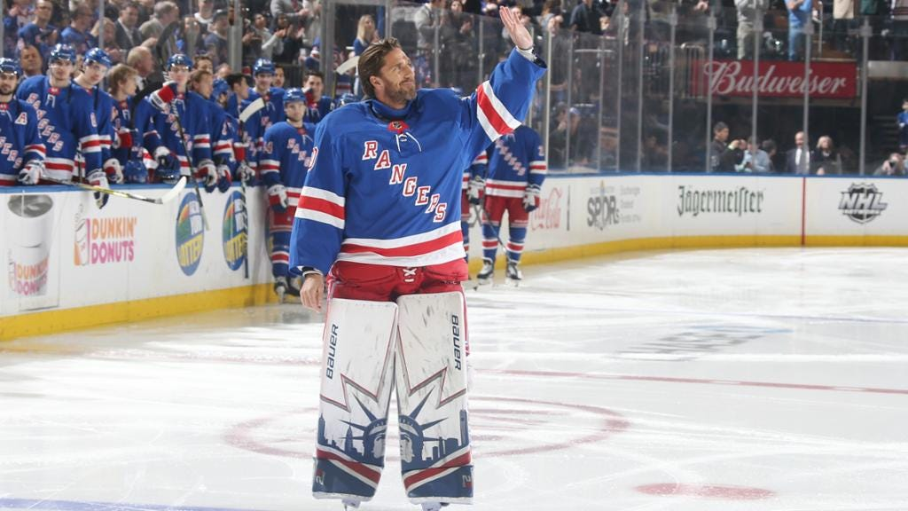 Lundqvist retires from NHL after 15 seasons with Rangers