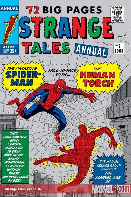 Strange Tales Annual (1962) #2 | Comic Issues | Marvel
