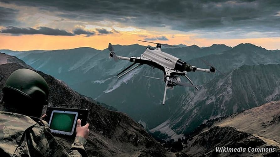 Possible First Use of AI-Armed Drones Triggers Alarm Bells   Voice of  America - English