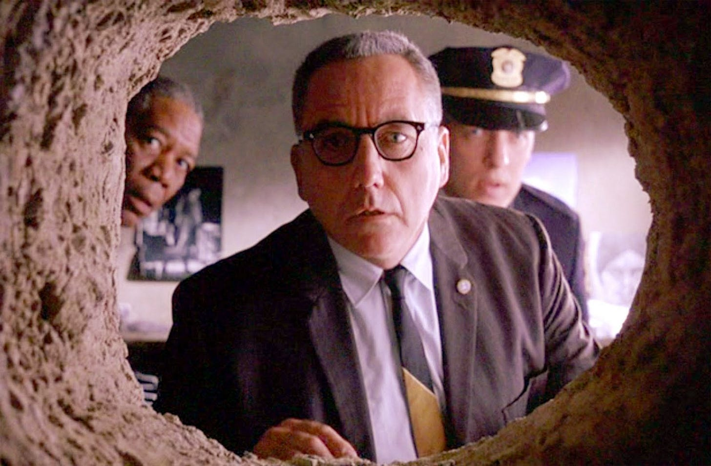 This is how long Andy's tunnel was in The Shawshank Redemption ...