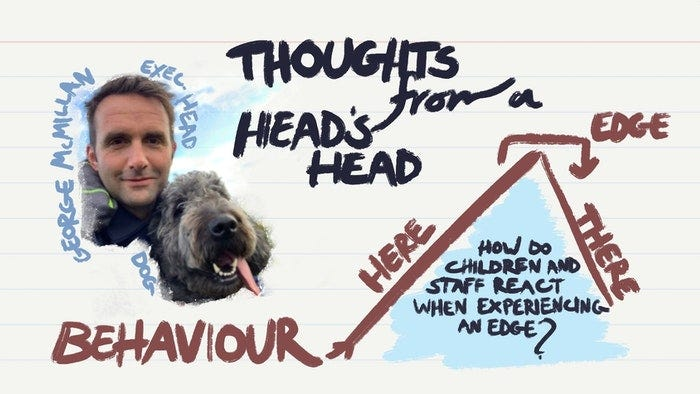 Thoughts from a Head's head about…