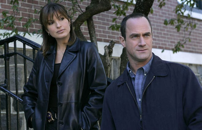 "Mariska Hargitay and Christopher Meloni on ""Law & Order: SVU"""