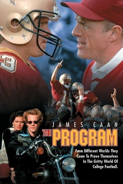 The Program movie review & film summary (1993) | Roger Ebert
