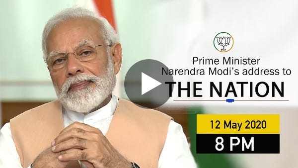 PM Shri Narendra Modi's address to the nation | 12 May 2020