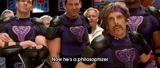 No He's A Philosophizer GIF - Dodgeball Philosophy Dwight - Discover &  Share GIFs