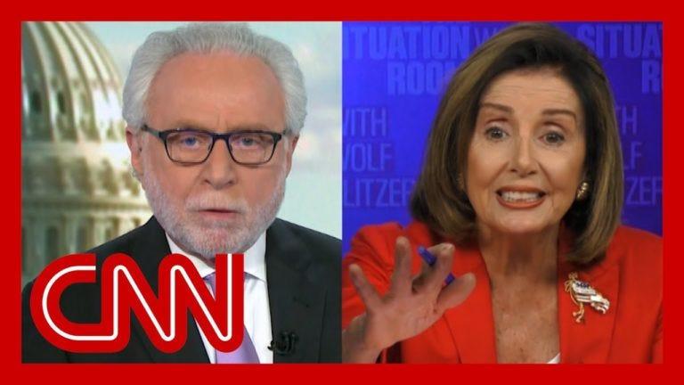 CNN's Wolf Blitzer Dares to Challenge Speaker Nancy Pelosi, bad idea - Fox  Sports 640 South Florida