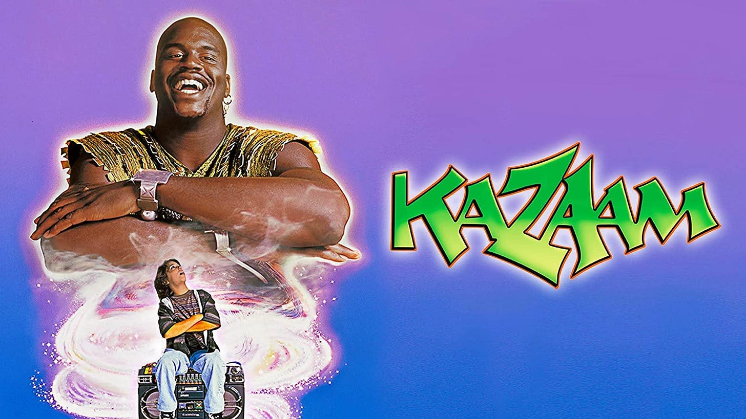 Lakers Movie Review: KAZAAM starring Shaquille O'Neal - Lakers Outsiders