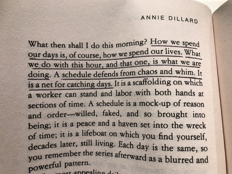 image of page 32 of The Writing Life by Annie Dillard