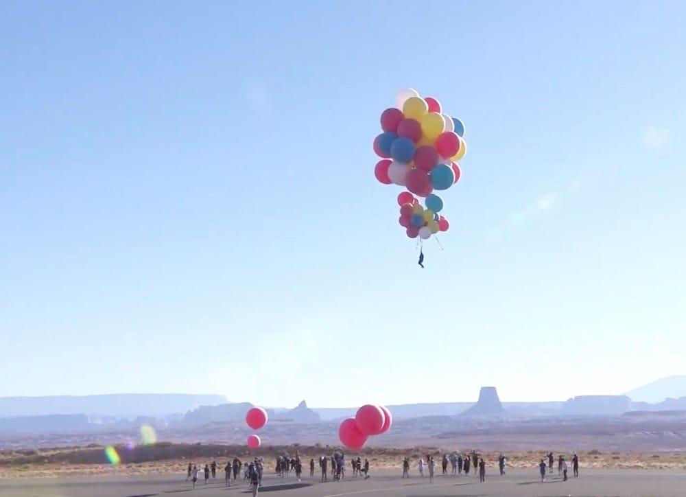 David Blaine Balloons