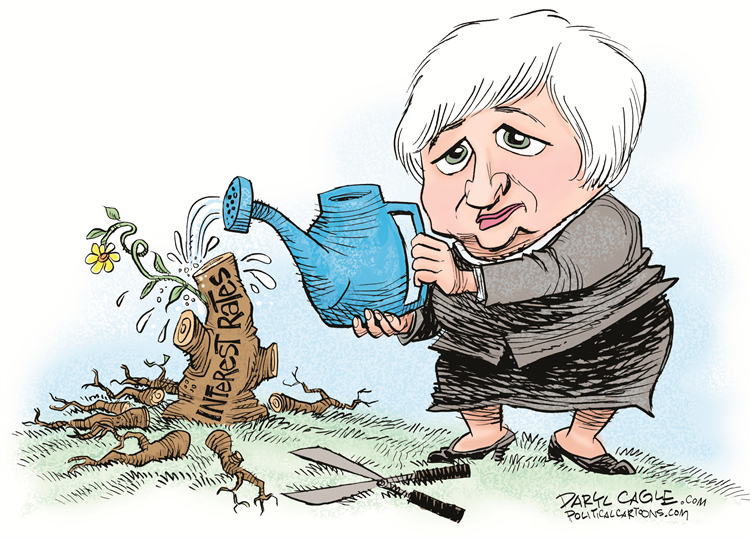Janet Yellen Raises Interest Rates