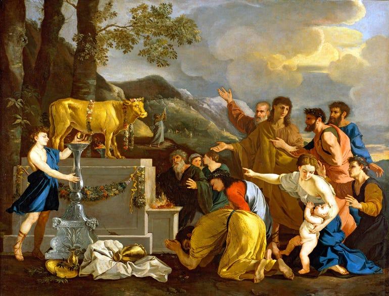 golden calf   Blogging Through the Bible