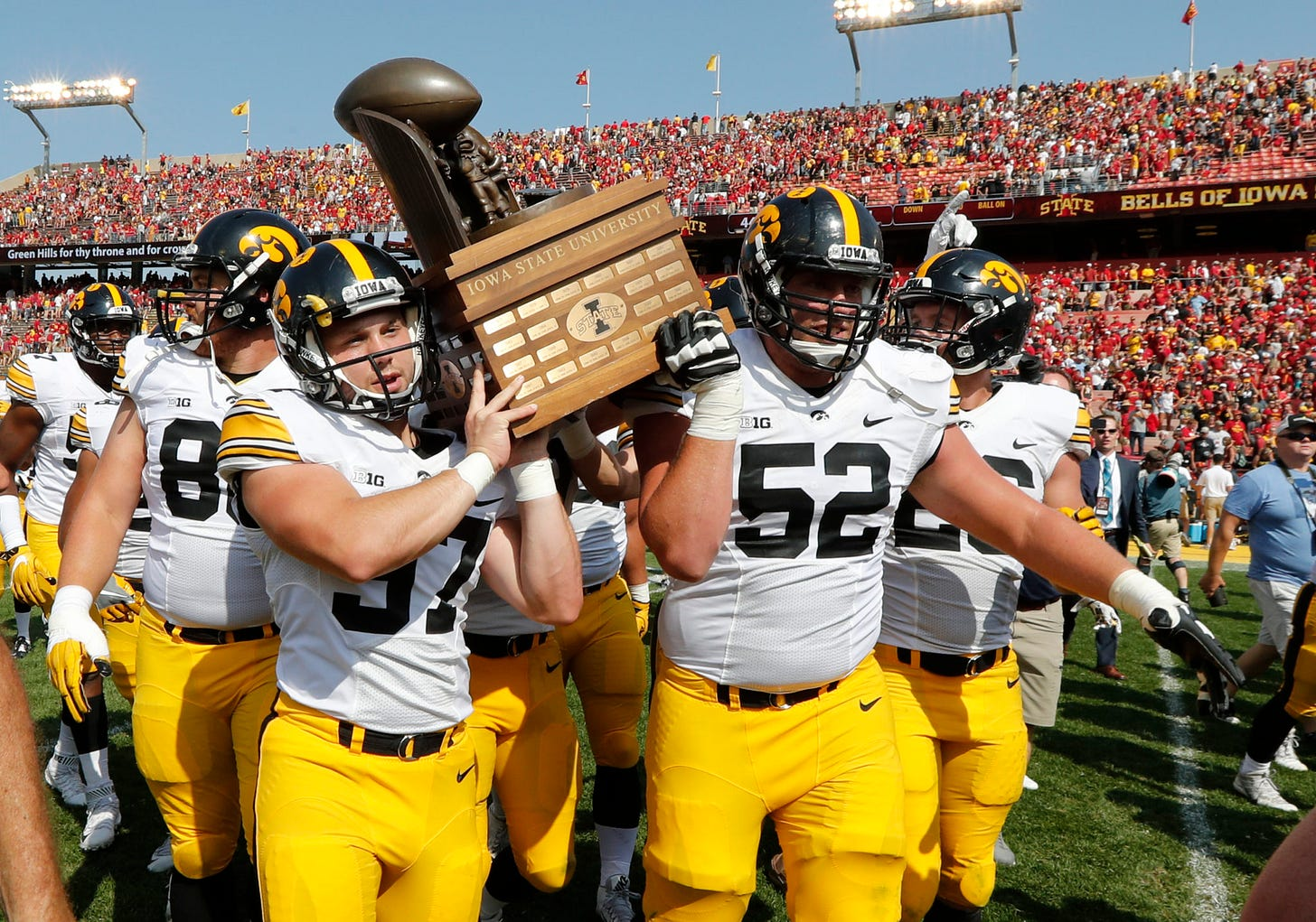 Iowa Fans React To Rivalry Game With Iowa State Being Canceled
