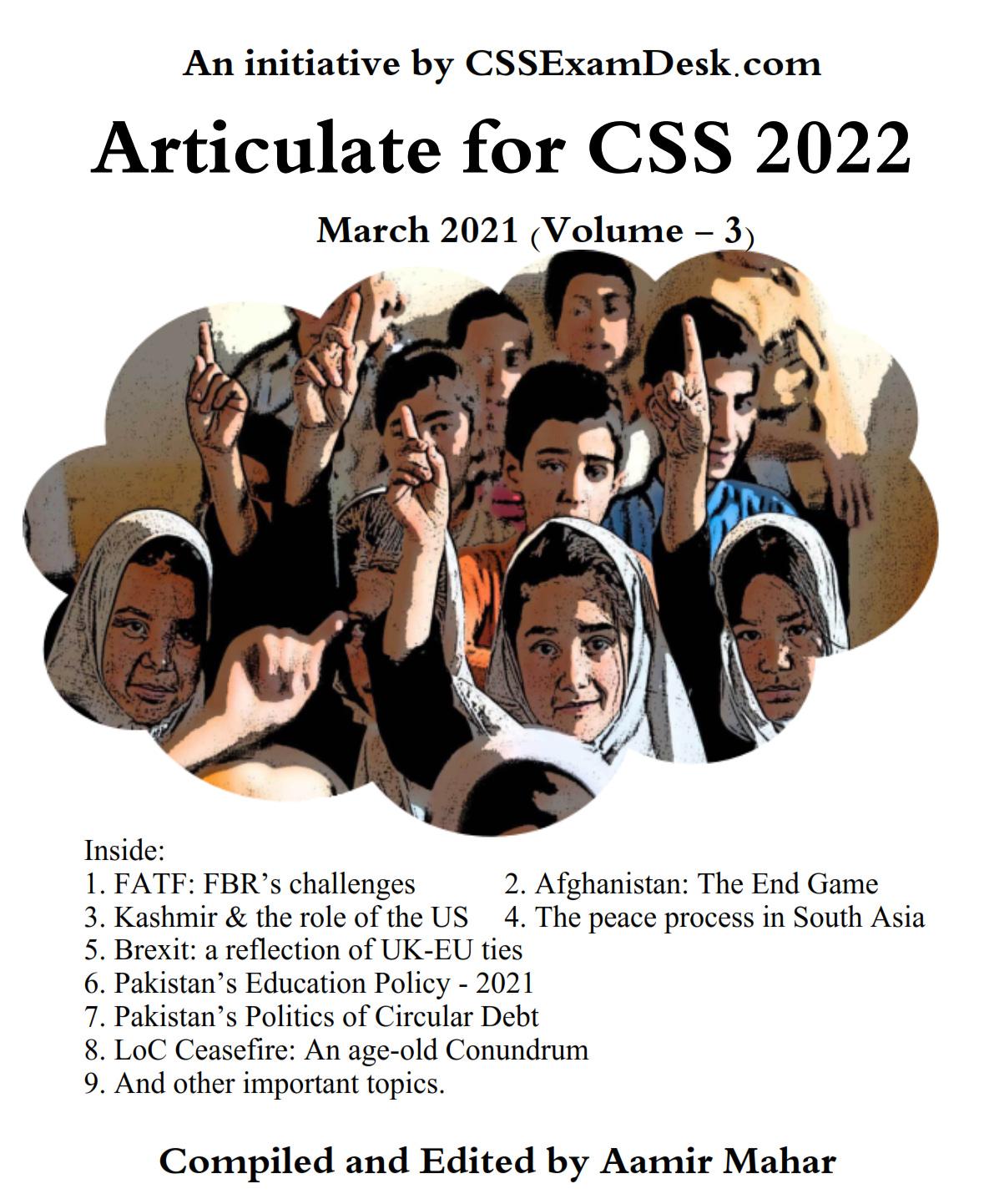CSS 2022 Articulate – III