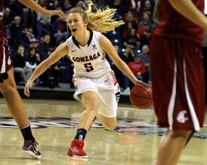 Georgia Stirton - Courtesy Gonzaga Athletics