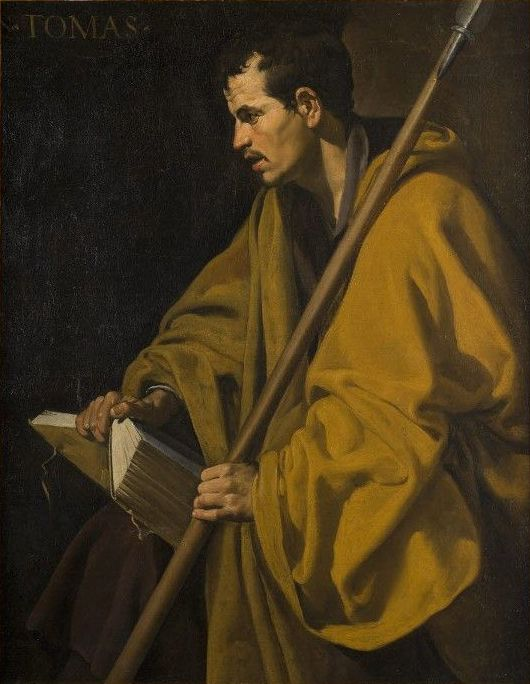 Image result for thomas the apostle in art
