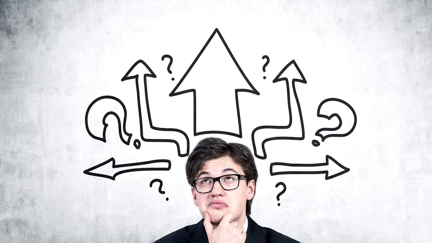 Good mistakes and decision making in sales