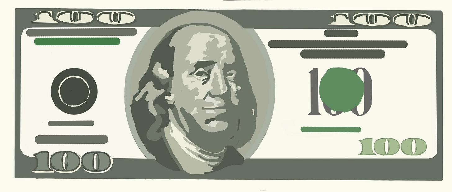 Paper Money Clip Art Free Stock Photo - Public Domain Pictures