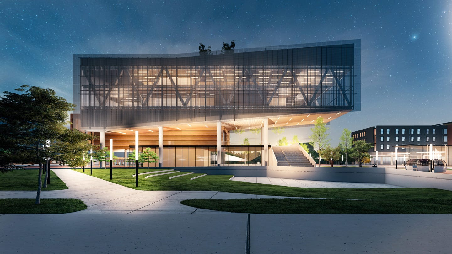 Rendering of the Propel Center campus.