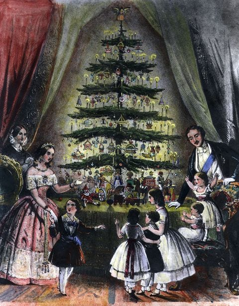 Where Did Christmas Trees Come From? - How Queen Victoria & Prince Albert  Made a Holiday Tradition