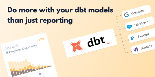 Making your dbt models more useful with Census