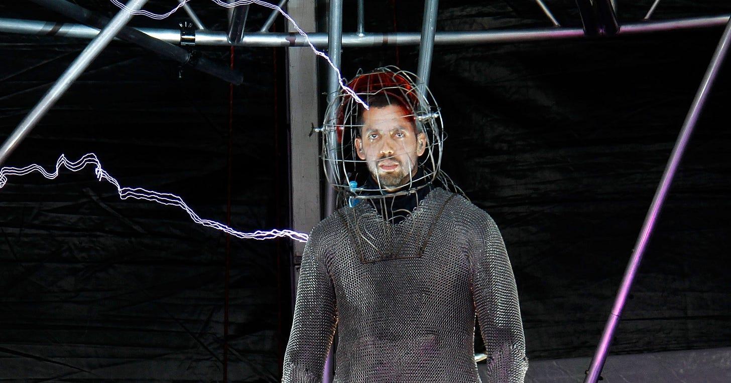 David Blaine nears final hours of 'shocking' stunt
