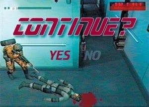 """Still from """"Metal Gear Solid"""""""