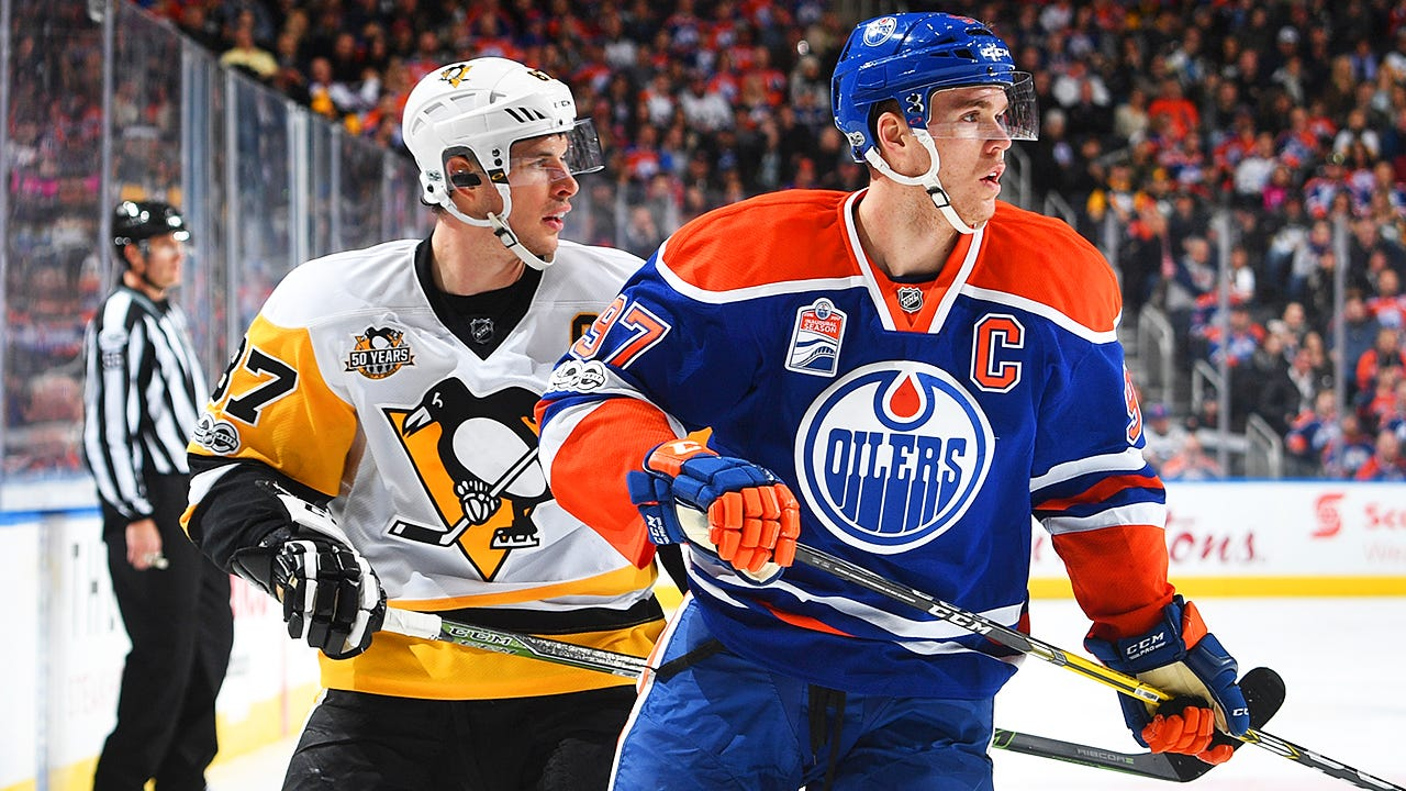 Oilers' McDavid forever linked to Crosby as 500th career point approaches -  Sportsnet.ca