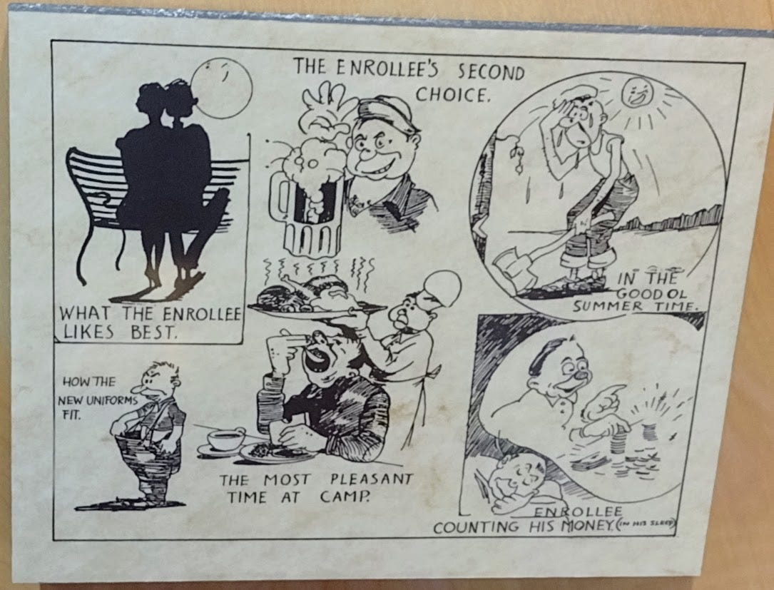 Cartoon about CCC