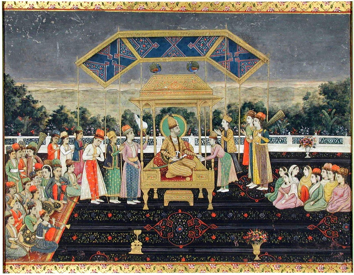 nadir_shah_on_the_peacock_throne_after_his_defeat_of_muhammad_shah-_ca-_18502c_san_diego_moa