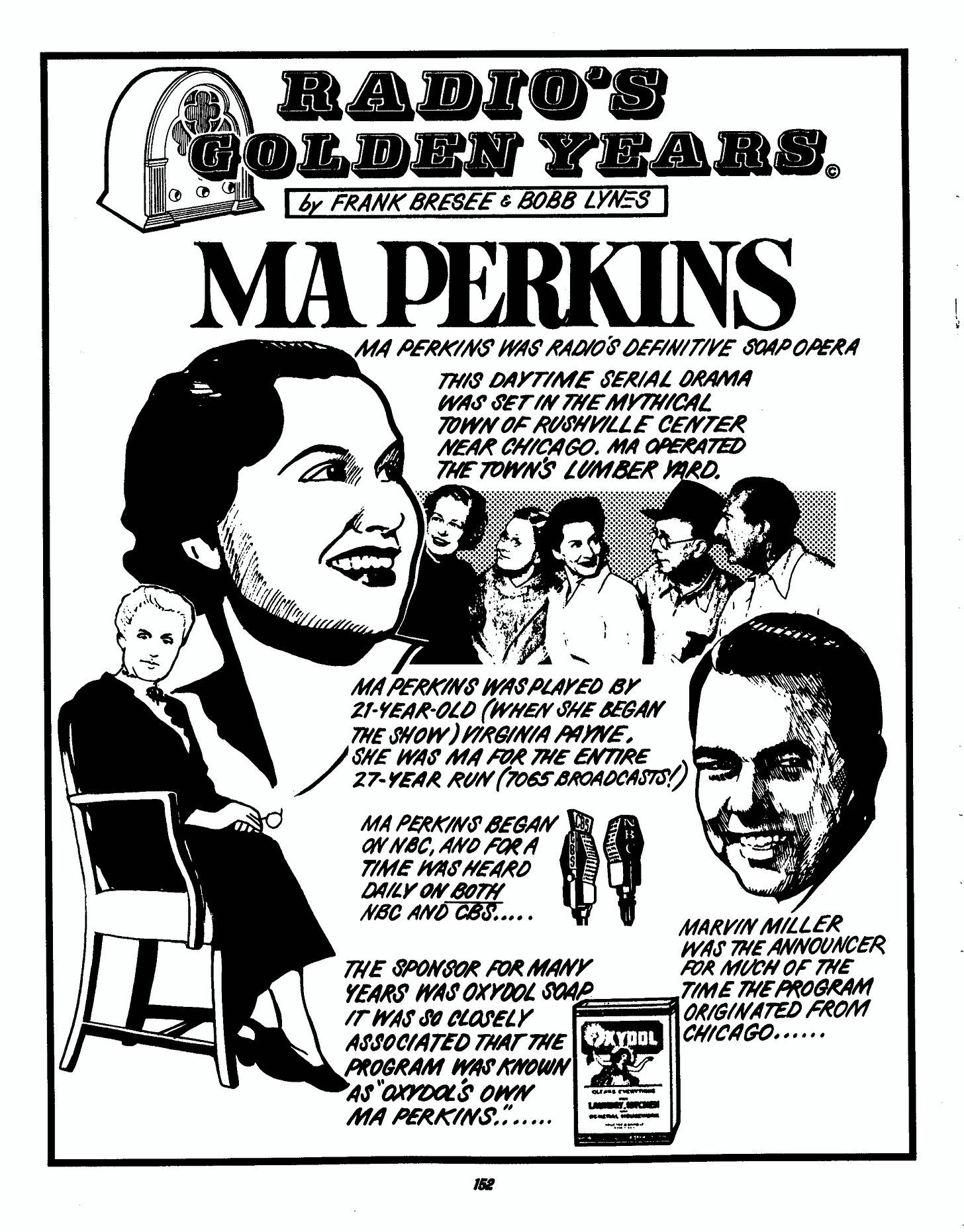 Ma Perkins | Soap Opera | Old Time Radio Downloads