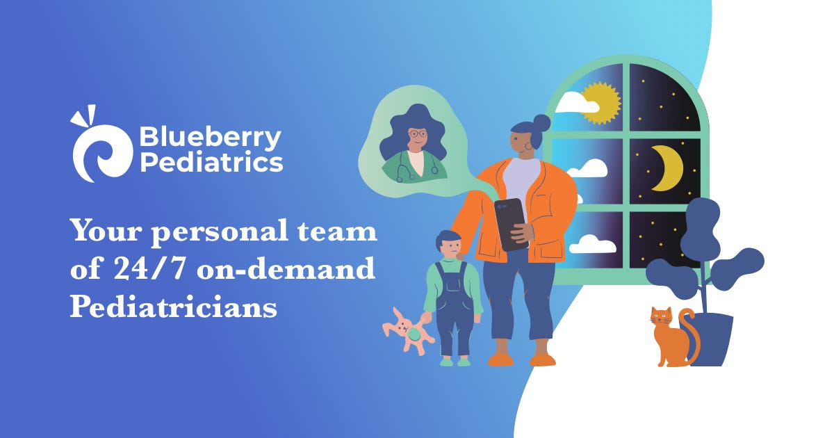 Your family's team of 24/7 on-demand Pediatricians
