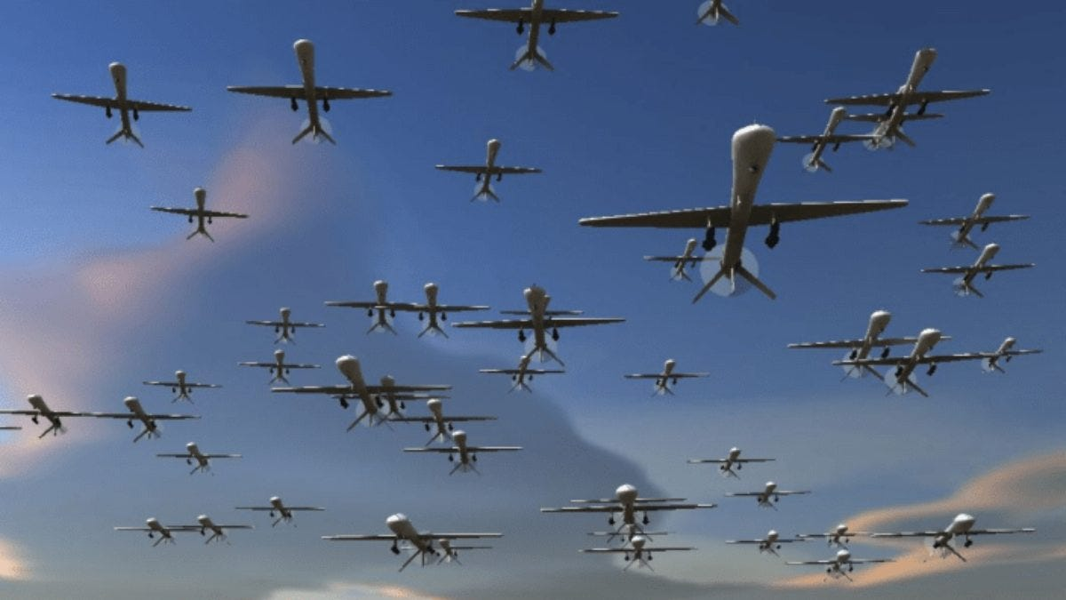 DRONE SWARM TECHNOLOGY AND ITS IMPACT ON FUTURE WARFARE - The Daily Guardian