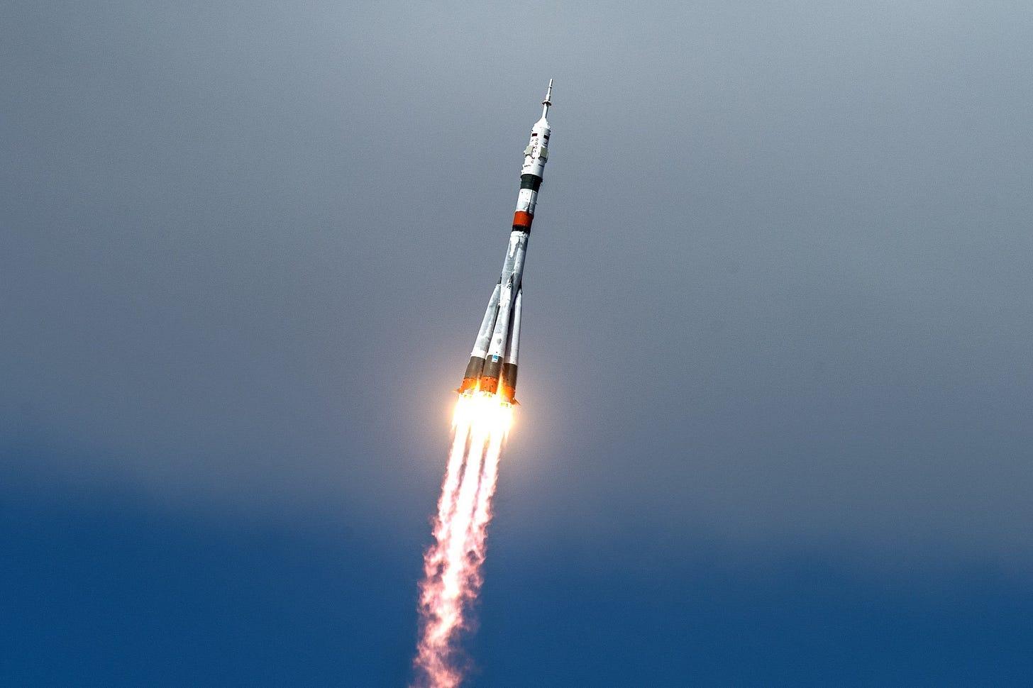 Image result for soyuz rocket