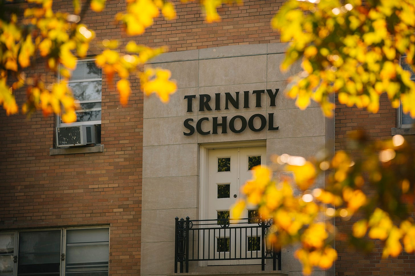 The Trinity School, where Amy Coney Barrett served as a board member on Friday, Sept. 25, 2020 in South Bend, Indiana. | Taylor Glascock for Politico Magazine
