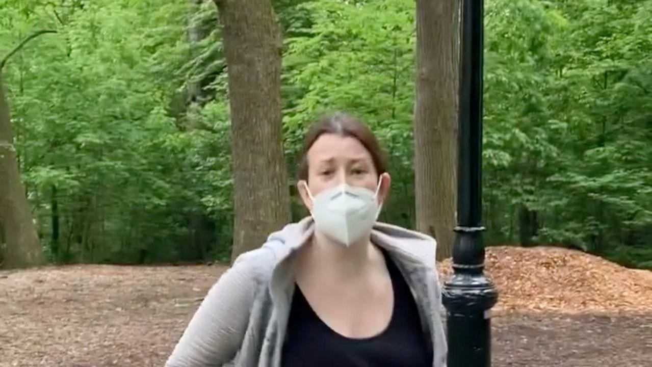 Amy Cooper, the white woman charged in racist Central Park run-in, made a  2nd 911 call falsely accusing Black birdwatcher - MarketWatch