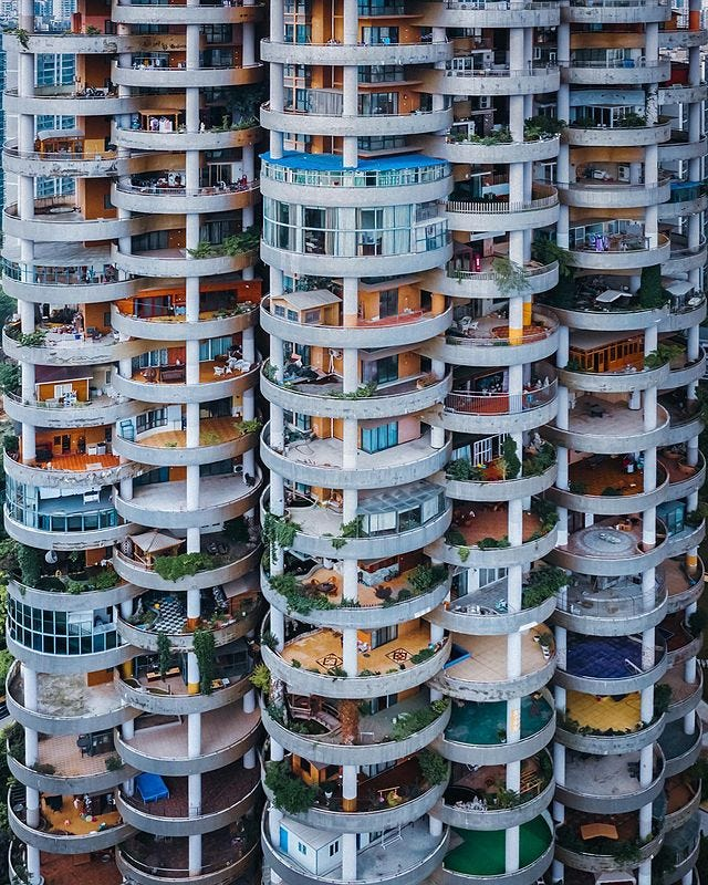 A building in Guiyang, China - by Jord Hammond
