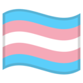 Transgender Flag on Google Android 11.0 December 2020 Feature Drop