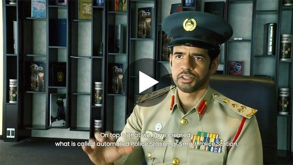 A Fully Automated Dubai Police Force with RPA from UiPath