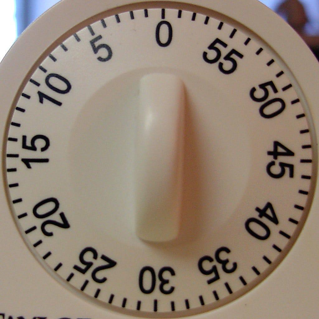 kitchen timer Image is licensed under