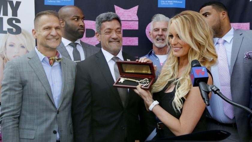 On 'Stormy Daniels Day,' West Hollywood honors porn star with key ...