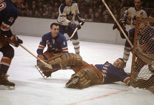 """BCBS 7/31: The Gump Worsley Blog! """"They Call Me Gump"""" Book Review, Gump's  Place on the Mount Rushmore of NYR Goalies, Gump Quotes & More! Plus:  Detailed Thoughts On Brady Skjei &"""